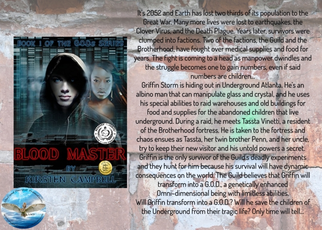 Kirsten Blood Master blurb