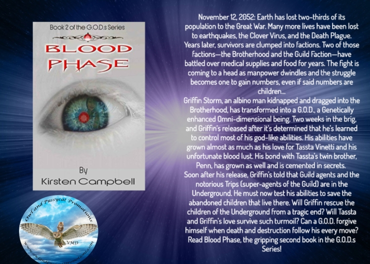 Kirsten blood phase blurb