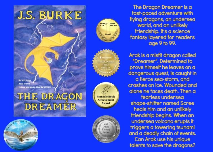 JS dragon dreamer blurb