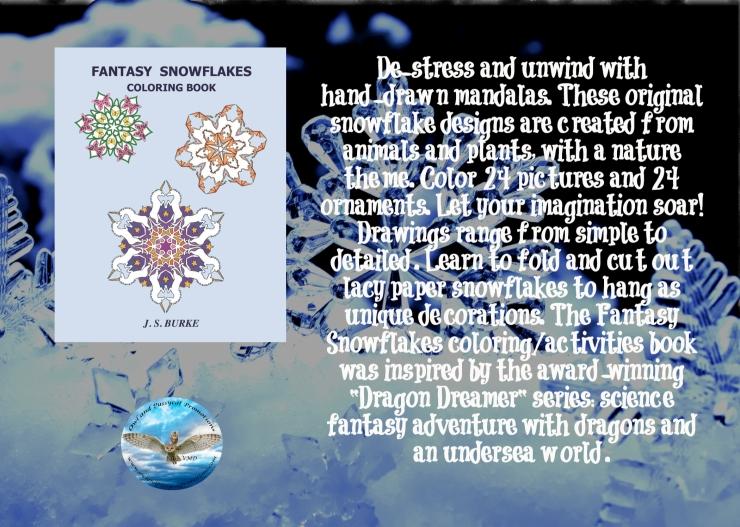 JS snowflake coloring book