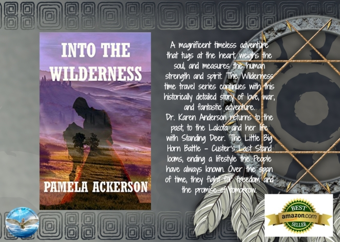 Pam into the wilderness blurb with award.jpg