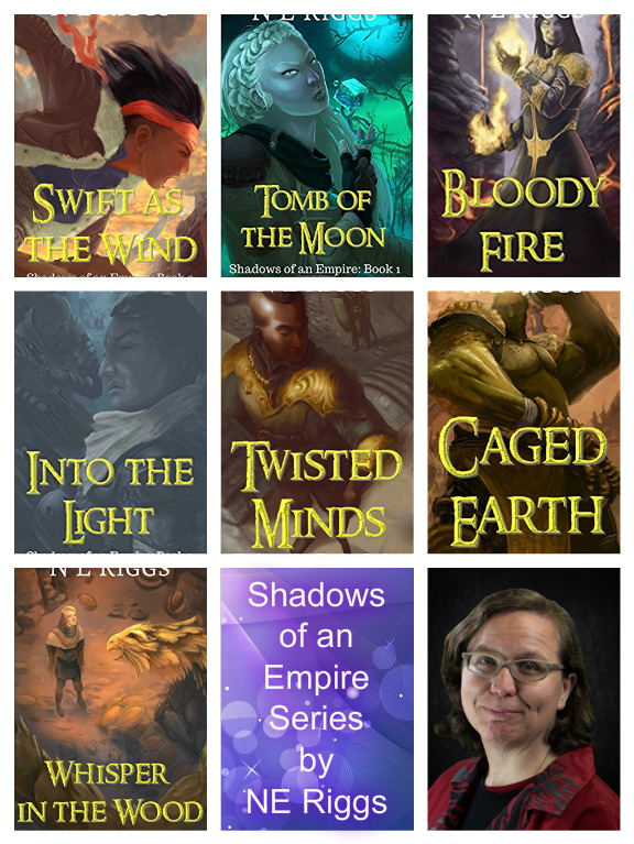 Shadows of an Empire Series collage NE Riggs