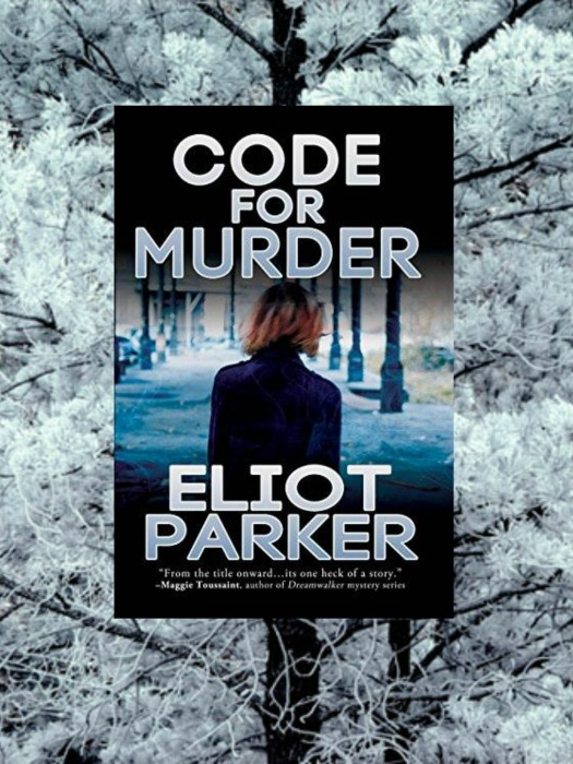 Code for Murder snow promo