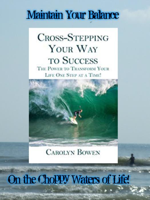 Cross Stepping promo Carolyn Bowen