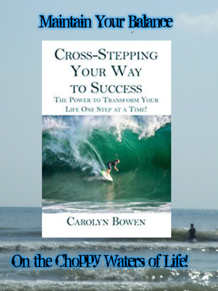 Cross Stepping promo Carolyn Bowen