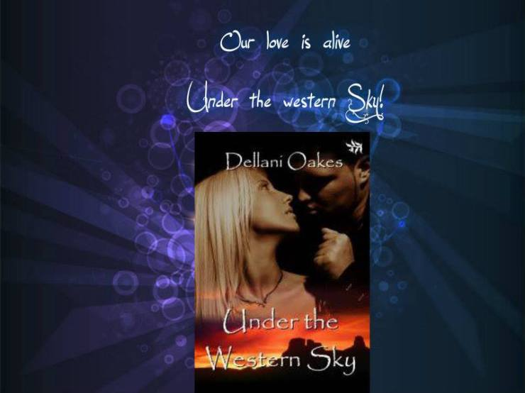 Under the western sky banner by Karen
