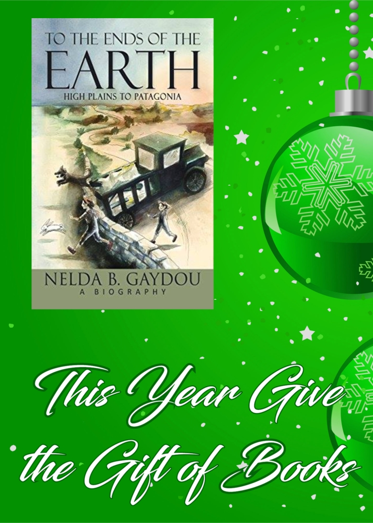 give the gift of books ends of the earth nelda gaydou