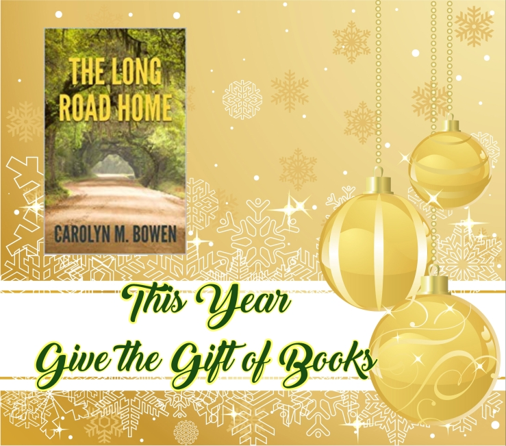 give the gift of books the long road home carolyn bowen.jpg