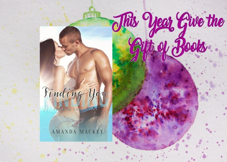 Gift of books Finding You Amanda Mackey