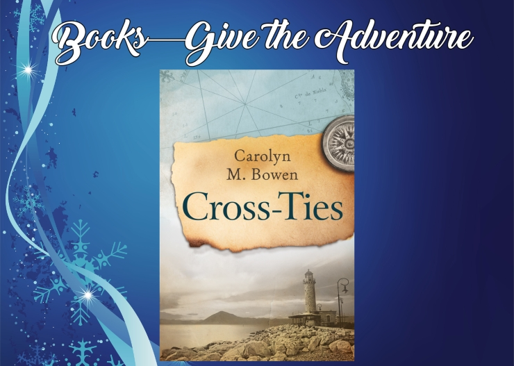 Give the Adventure Cross Ties by Carolyn Bowen