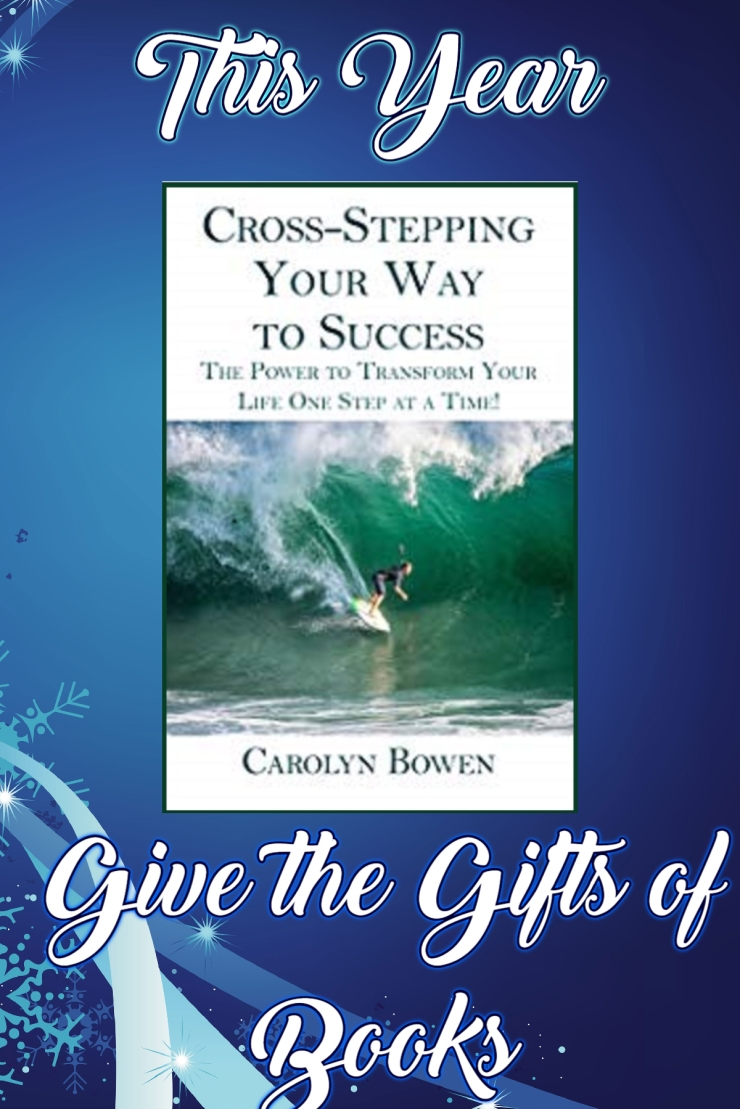 Cross-Stepping Gift of Books Carolyn Bowen