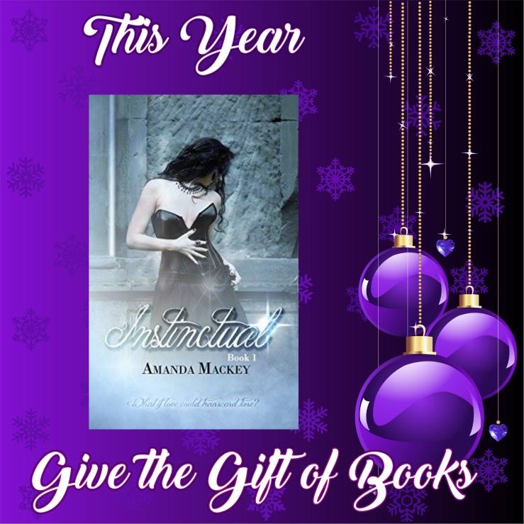 Give the gift of books instinctual amanda mackey
