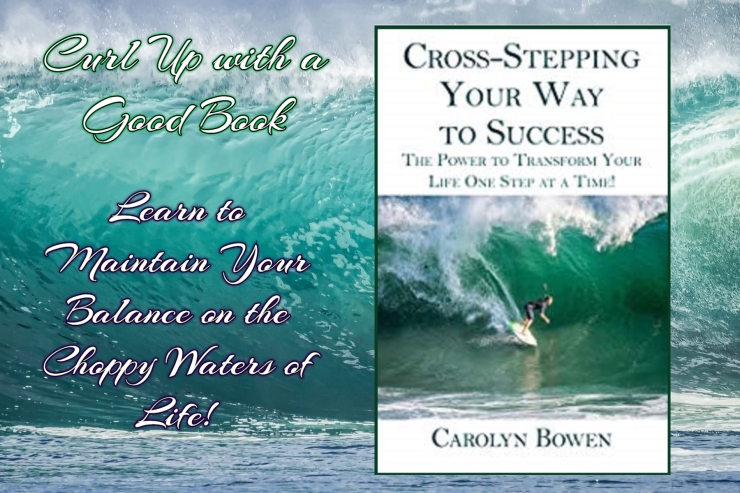 curl up with cross stepping carolyn bowen