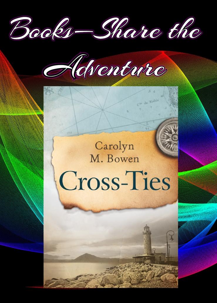share the adventure cross ties carolyn bowen