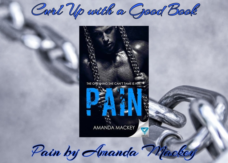 Curl Up with a Good Book Pain by Amanda Mackey