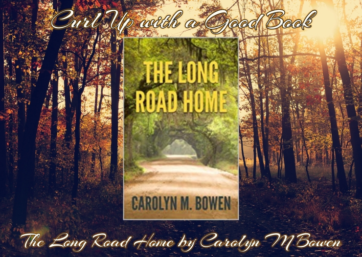 curl up with a good book the long road home carolyn bowen