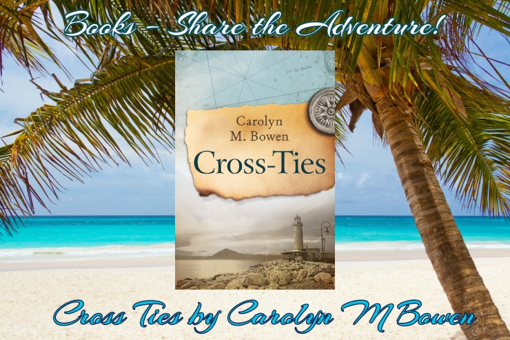 books share the adventure cross ties carolyn m bowen