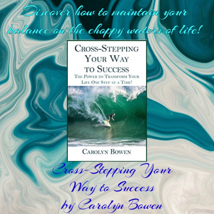 discover how to maintain your balance cross stepping carolyn bowen