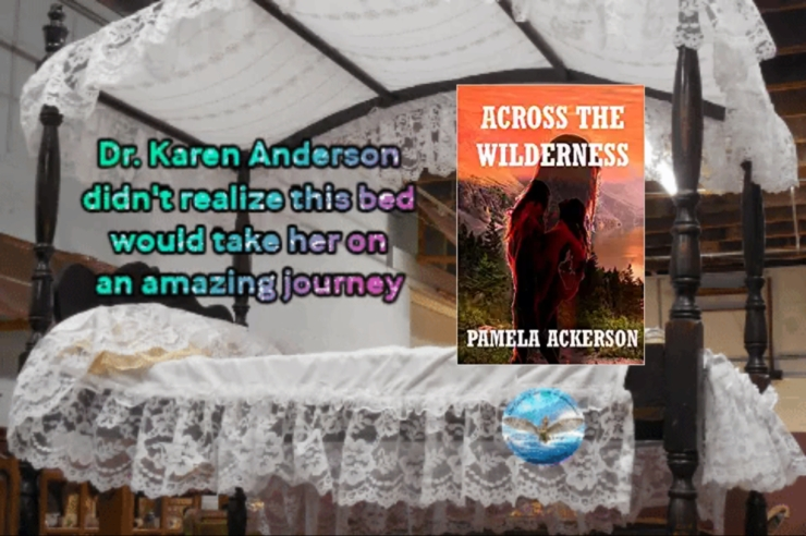 Pam across the wilderness
