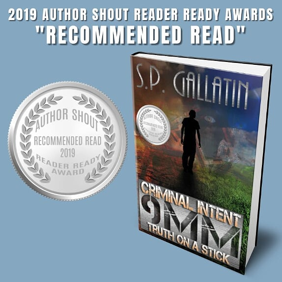 Criminal Intent - Recommended Read - 2019 Author Shout Reader Ready Awards IG