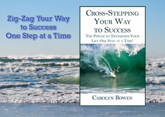 CROSS STEPPING YOUR WAY TO SUCCESS CAROLYN BOWEN PROMO